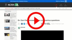 dr dan field ansers corona virus questions kcra channel 13 news md staffers